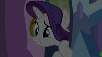 Rarity looking for Spike in his room S9E19