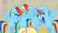 Real Rainbow Dash ready to kick S2E26