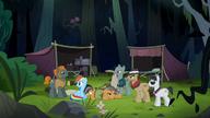S06E13 Porwani zostali zaprowadzeni do dżungli