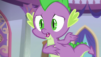"""Spike """"to do it, she's playing different"""" S8E4"""