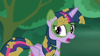 Twilight --a pony who traveled back in time-- S5E26
