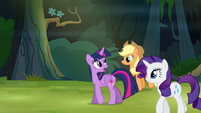 Twilight and friends in the forest S4E04