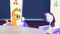 """Applejack """"especially when it comes to a Crystalling"""" S6E1"""