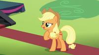 """Applejack """"that's more like the Rara I remember"""" S5E24"""