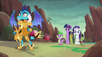 Ember --every dragon who thinks I'm just a little princess-- S6E5