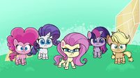 Main ponies mad at Dishwater Slog PLS1E2b