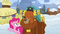 """Pinkie Pie """"ask if they'll clear the snow away"""" S7E11"""