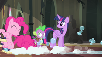 Pinkie Pie -don't worry about it, Spike- S4E06