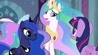 """Princess Celestia """"Luna and I have decided"""" S9E2"""