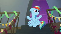 """Rainbow """"maybe some of the Wonderbolts"""" S6E7"""