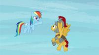 """Rainbow Dash """"where'd he go?"""" S7E26"""