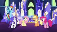 Rainbow recalls Sonic Rainboom S5E3