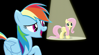 """Rainbow singing """"you'll start to work it out"""" S6E11"""