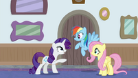 """Rarity """"what are you two doing here?"""" BGES3"""
