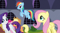 Rarity 'You were prepared to do your best' S3E2