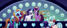 Sassy and Coco join Rarity and Twilight MLPTM