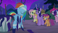 """Scootaloo """"why are you in such a good mood?"""" S6E7"""