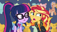 """Sunset Shimmer """"the old bump-and-tingle"""" EGROF"""