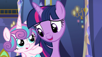"""Twilight Sparkle """"taught me a really cool bear game"""" S7E3"""