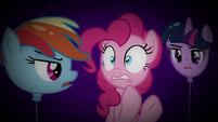 Twilight and Rainbow appear as balloons S5E19
