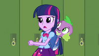 """Twilight and Spike """"do some research"""" EG"""