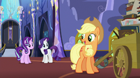 "Applejack ""while y'all figure that out"" S6E21"