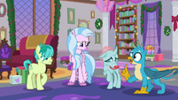 Gallus about to say something S8E16