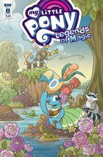 Legends of Magic issue 8 sub cover