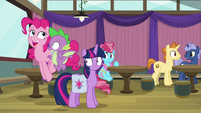 """Pinkie Pie """"excited for this game"""" S9E16"""