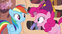 "Pinkie Pie ""national random holiday party day"" S4E04"