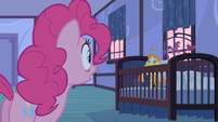 Pinkie Pie looking back S2E13