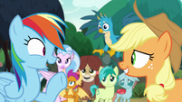 """Rainbow """"unless you want to go left"""" S8E9"""