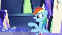"""Rainbow Dash """"as epic as he is!"""" S8E21"""