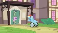 Rainbow Dash wheelchair S02E16