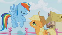 Rainbow assures that her plan is safe S1E04