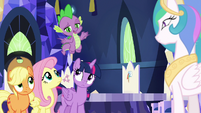 """Spike """"Fluttershy's the only pony"""" S9E13"""