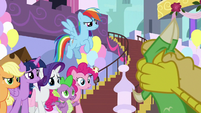"""Spike """"did you just walk here?"""" S9E24"""