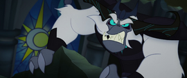 The Storm King growling with rage MLPTM
