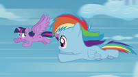 "Twilight ""fast enough for a sonic rainboom"" S5E25"