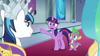 """Twilight Sparkle """"you're wearing it?!"""" S9E4"""