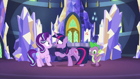 Twilight Sparkle offers to go with Starlight S7E10