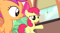 "Apple Bloom ""don't you listen to her music?"" S4E19"