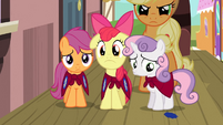 CMC upset at being called blank flanks S03E04