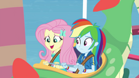 """Fluttershy """"these kids are so brave"""" EGROF"""