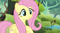 Fluttershy gives Discord the benefit of the doubt S03E10
