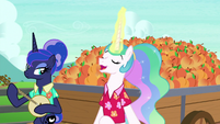 Princess Celestia -gonna be a peach- S9E13