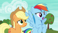"""Rainbow Dash """"or a whole lot of it"""" S6E18"""