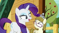 """Rarity """"I didn't even see you there!"""" S7E6"""