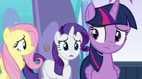 """Rarity """"I thought Alicorn wings had to be earned"""" S6E1"""