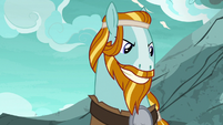 Rockhoof grinning triumphantly S7E16